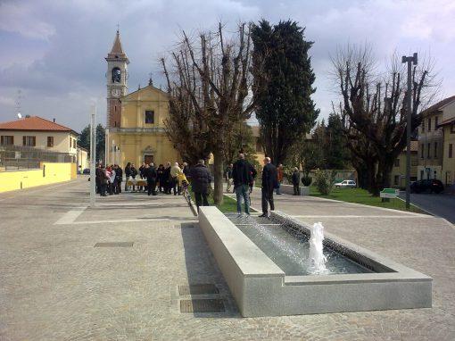 Piazza Mezzana a Somma Lombardo