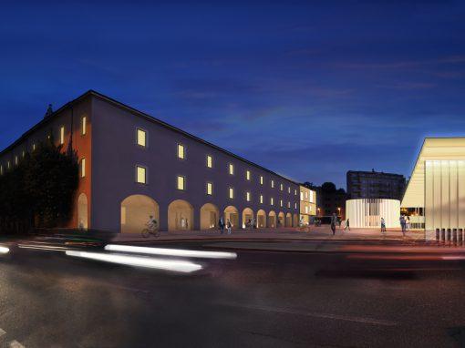 Riqualificazione funzionale e urbanistica del comparto di Piazza della Repubblica a Varese