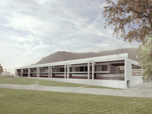 Progettazione della nuova sede per le Aziende Industriali di Mendrisio