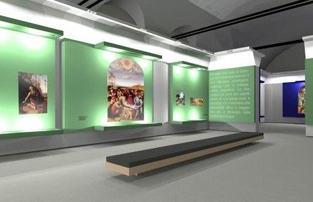 """Allestimento mostra """"Lorenzo Lotto"""" alle Scuderie del Quirinale"""