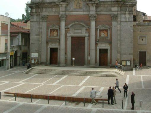 Piazza Vittorio Veneto a Somma Lombardo