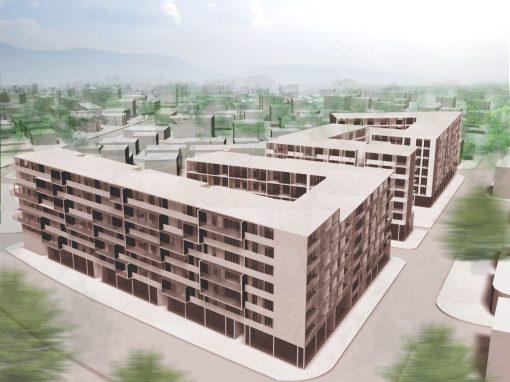 Edificio residenziale a Tirana
